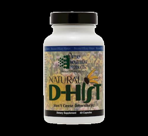 OrthoMolecular Natural D-Hist