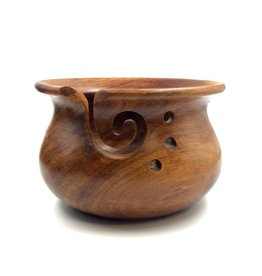 Darn Good Yarn Wooden Yarn Bowl