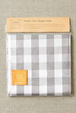 "Cocoknits Coco Knits ""Check"" Your Gauge Cloth"
