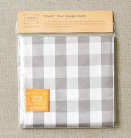 "Cocoknits Cocoknits ""Check"" Your Gauge Cloth"
