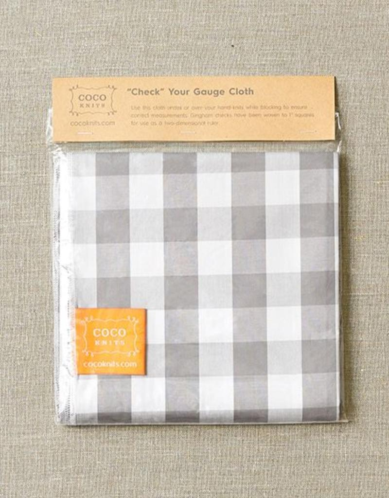 """Cocoknits Coco Knits """"Check"""" Your Gauge Cloth"""