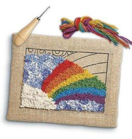Harrisville Designs Rainbow Rug Hooking Kit