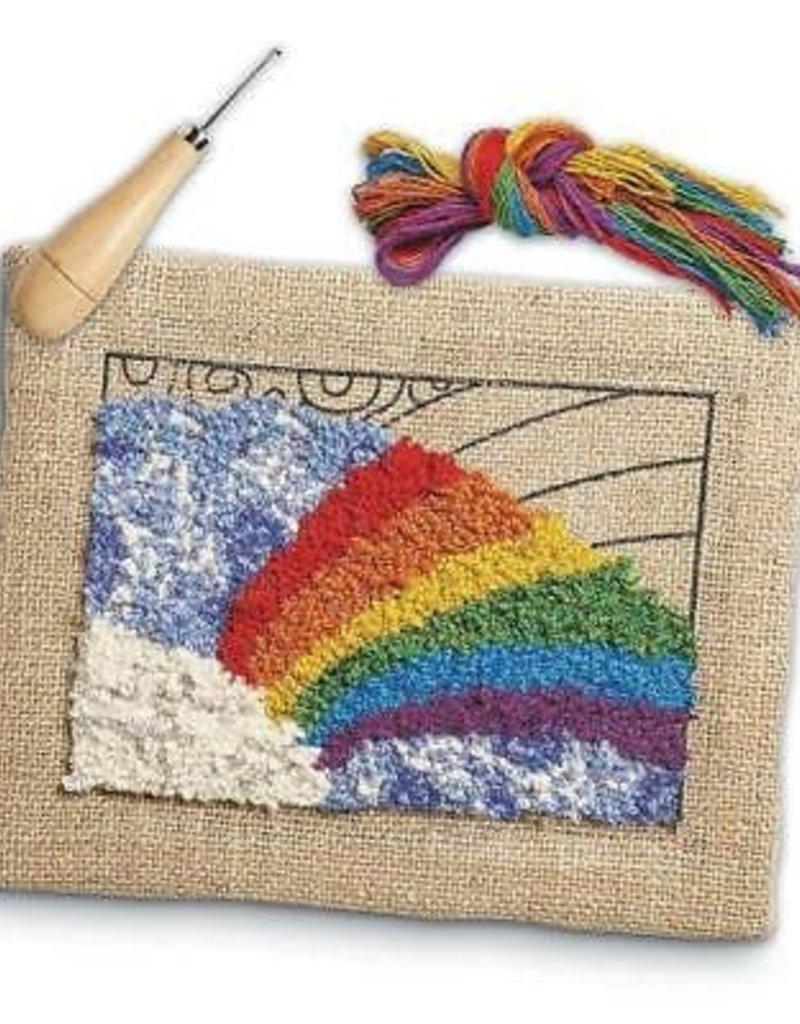 Rainbow Rug Hooking Kit - The Makery Shop