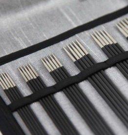 """Knitter's Pride 6"""" Karbonz DPN Socks Needle Set"""