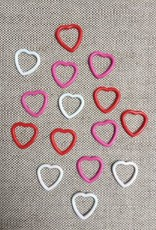Heart Shaped Stitch Markers