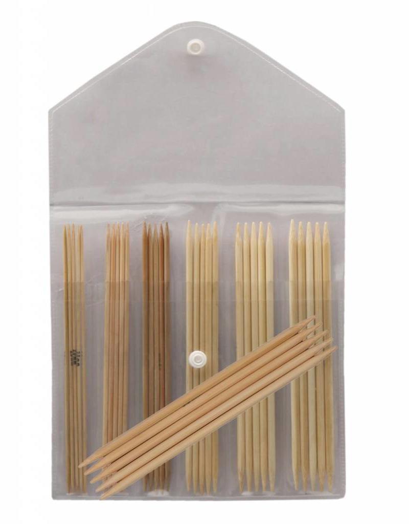"""Knitter's Pride Knitter's Pride 6"""" Bamboo DPN Socks Needle Set"""