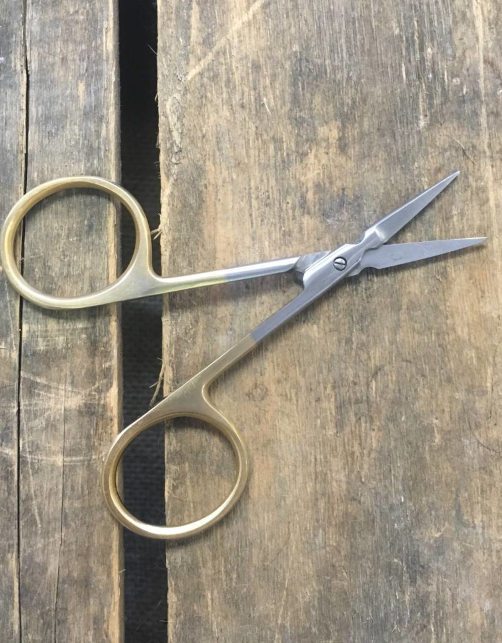 Minimalist Gold Handled Embroidery Scissors