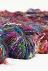 Carded Recycled Silk Sari Yarn