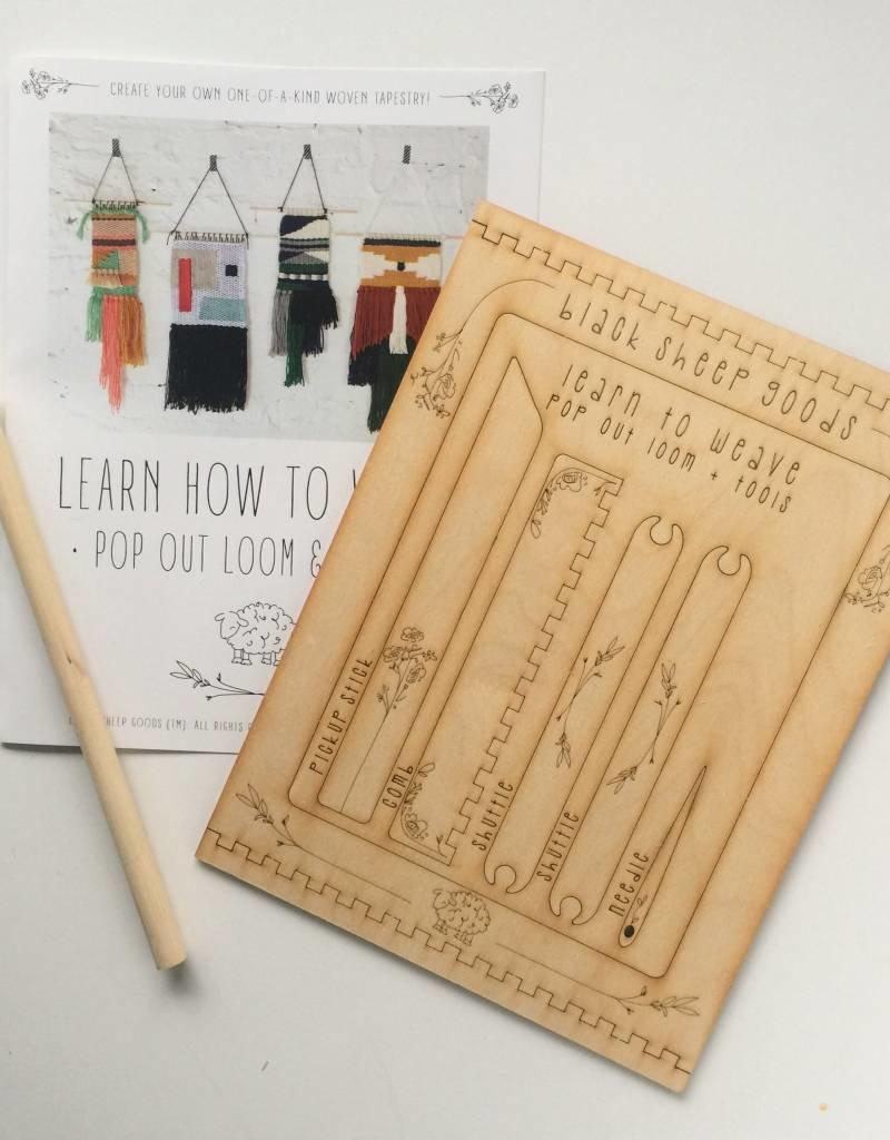 DIY Tapestry Weaving Kit