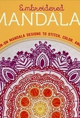 Embroidered Mandalas: 25 Iron-On Mandala Designs to Stitch, Color, and Share by Lark Publications