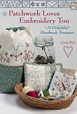 Patchwork Loves Embroidery Too by Gail Pan