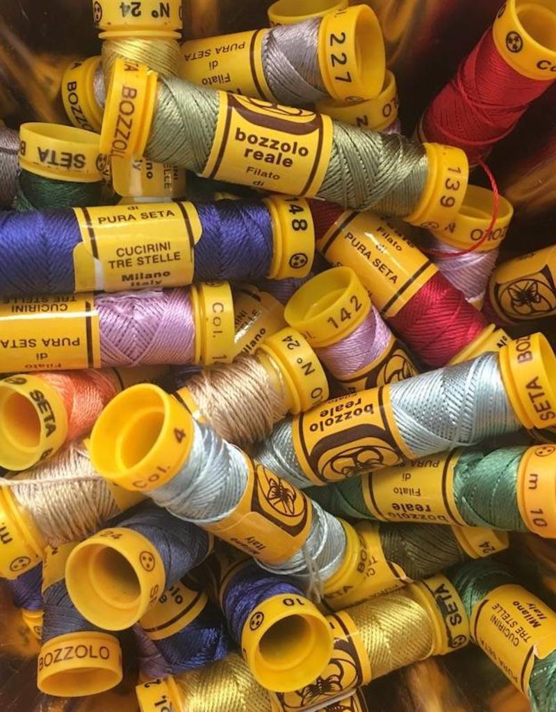Bozollo Reale Italian Silk Embroidery Thread