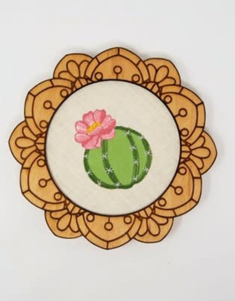 Handcrafted Decorative Embroidery Frames -  8""
