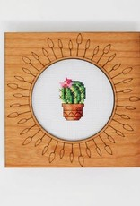 Handcrafted Decorative Embroidery Frame 6""