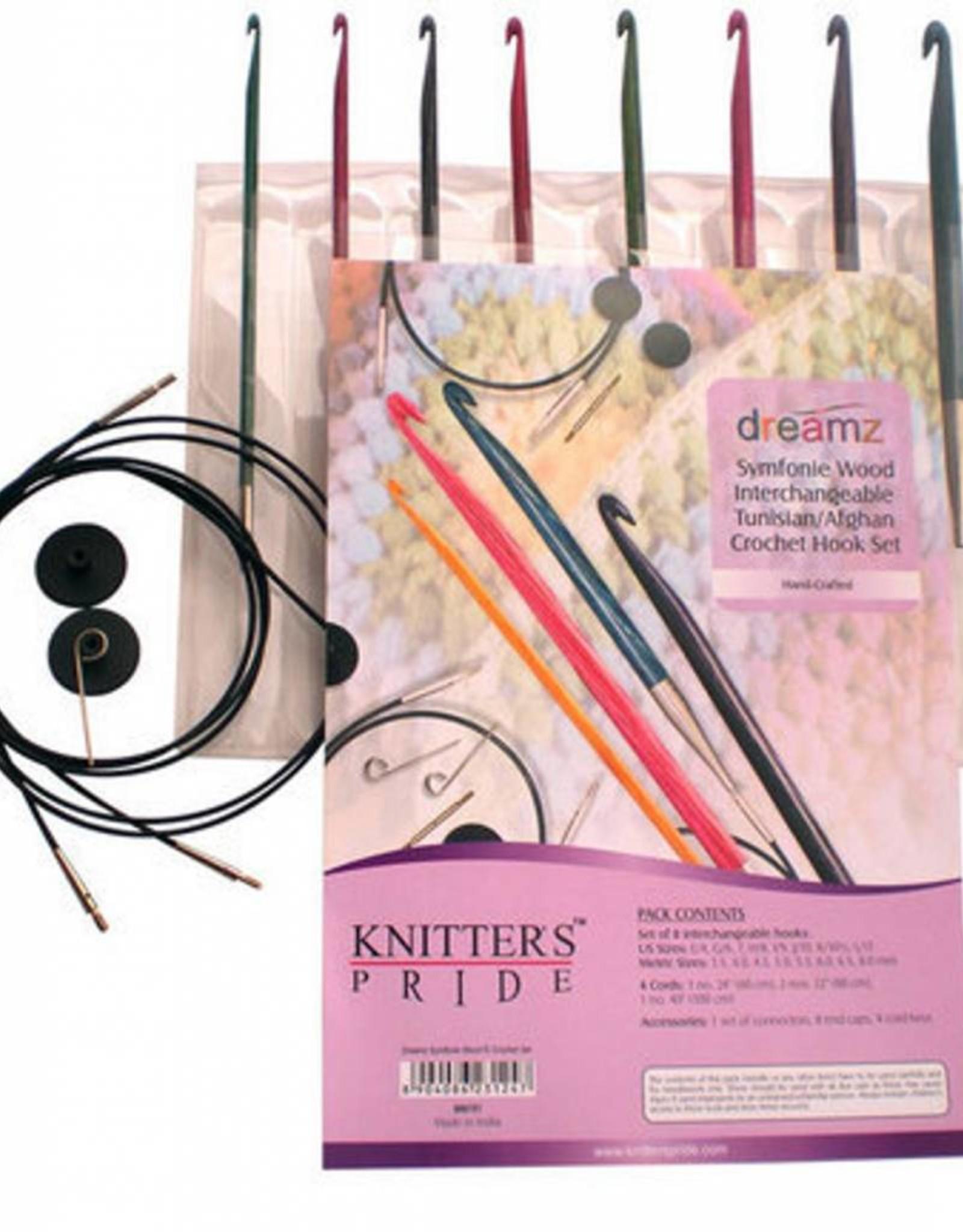 Knitter's Pride Knitter's Pride Dreamz Tunisian Crochet Hook Set