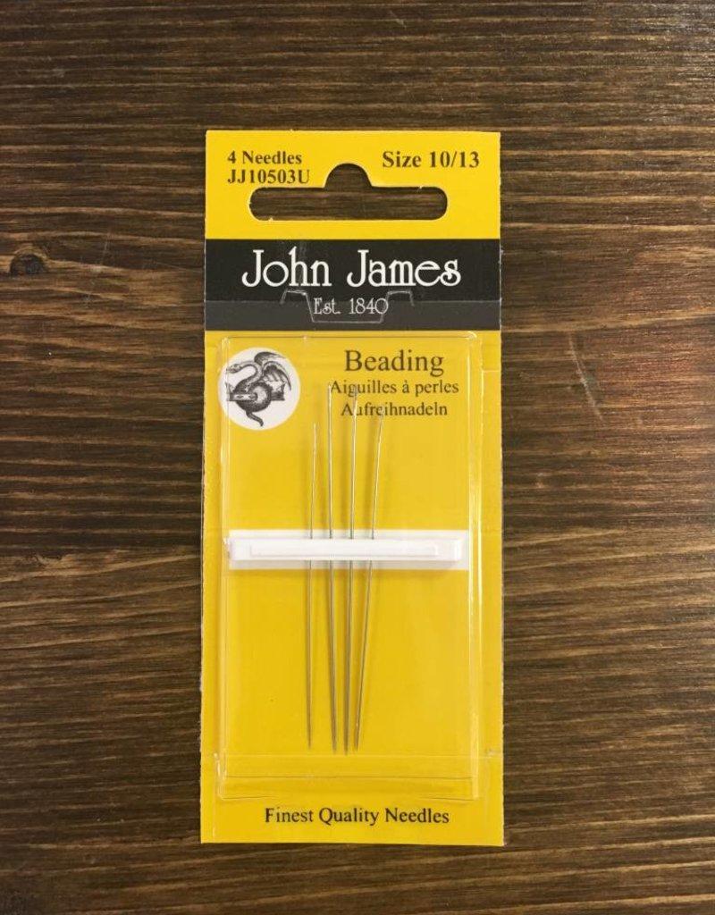 John James Needles John James Beading Needles Size 10/13