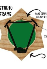 """Handcrafted Decorative Embroidery Frame 7"""""""