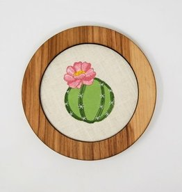 Handcrafted Decorative Embroidery Frame 7""