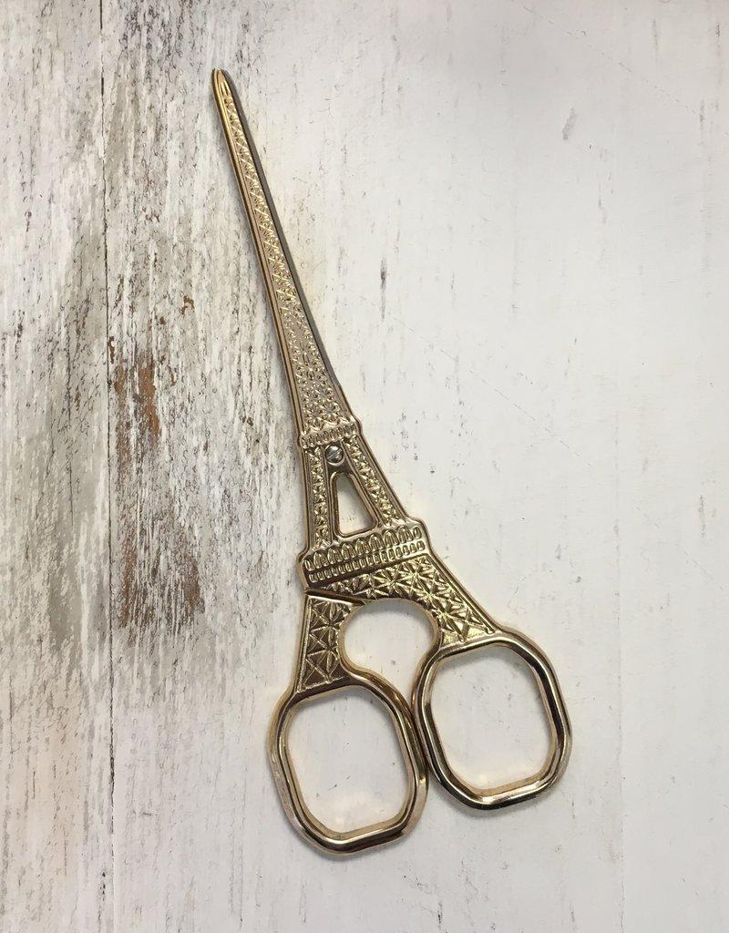 Gold Eiffel Tower Scissors