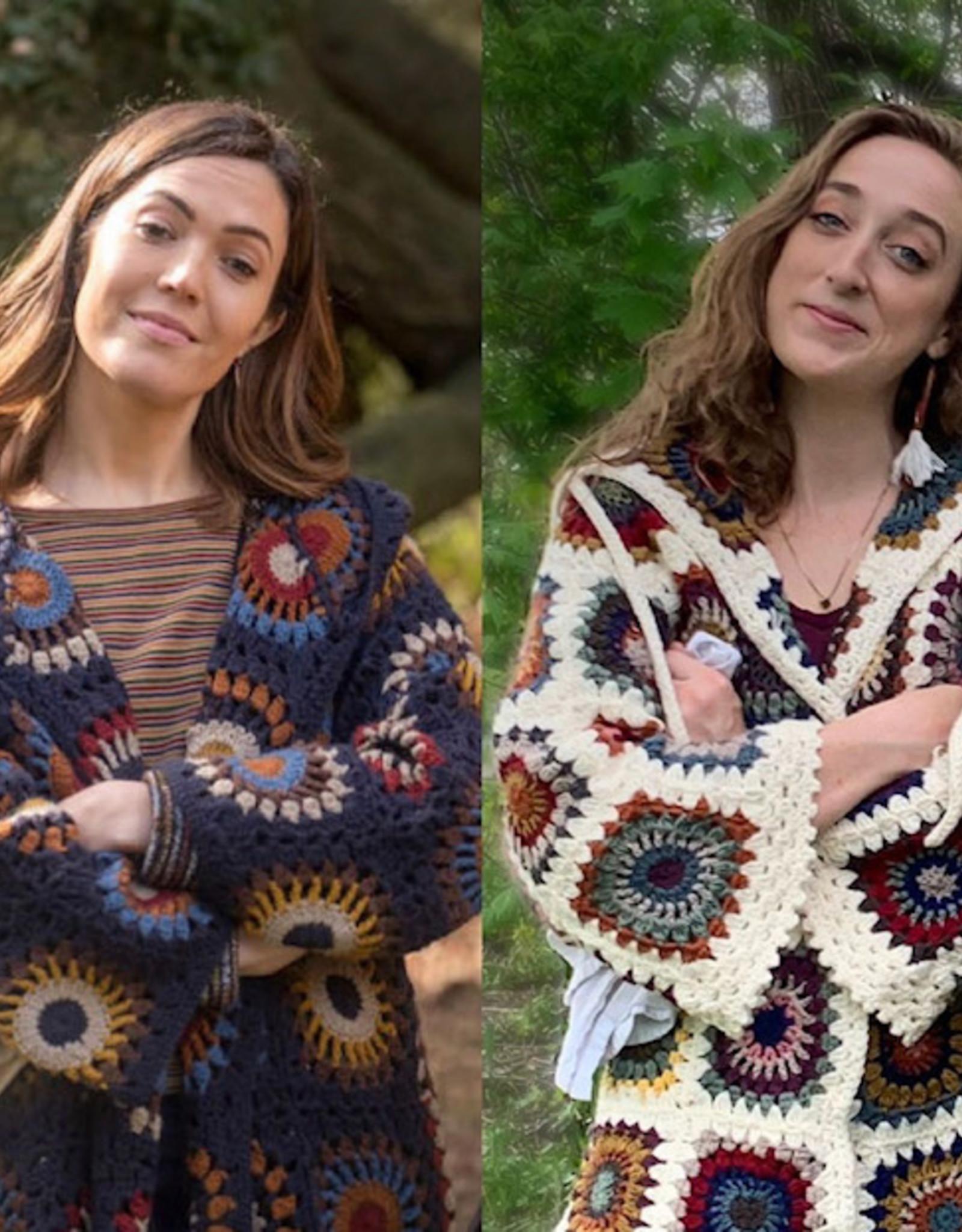 Granny Square Rebecca Jacket Kit - No Pattern