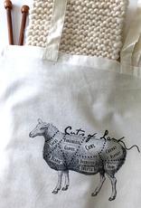 Cuts of Lamb Handle Bag