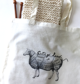 Cuts of Lamb Handle Bag