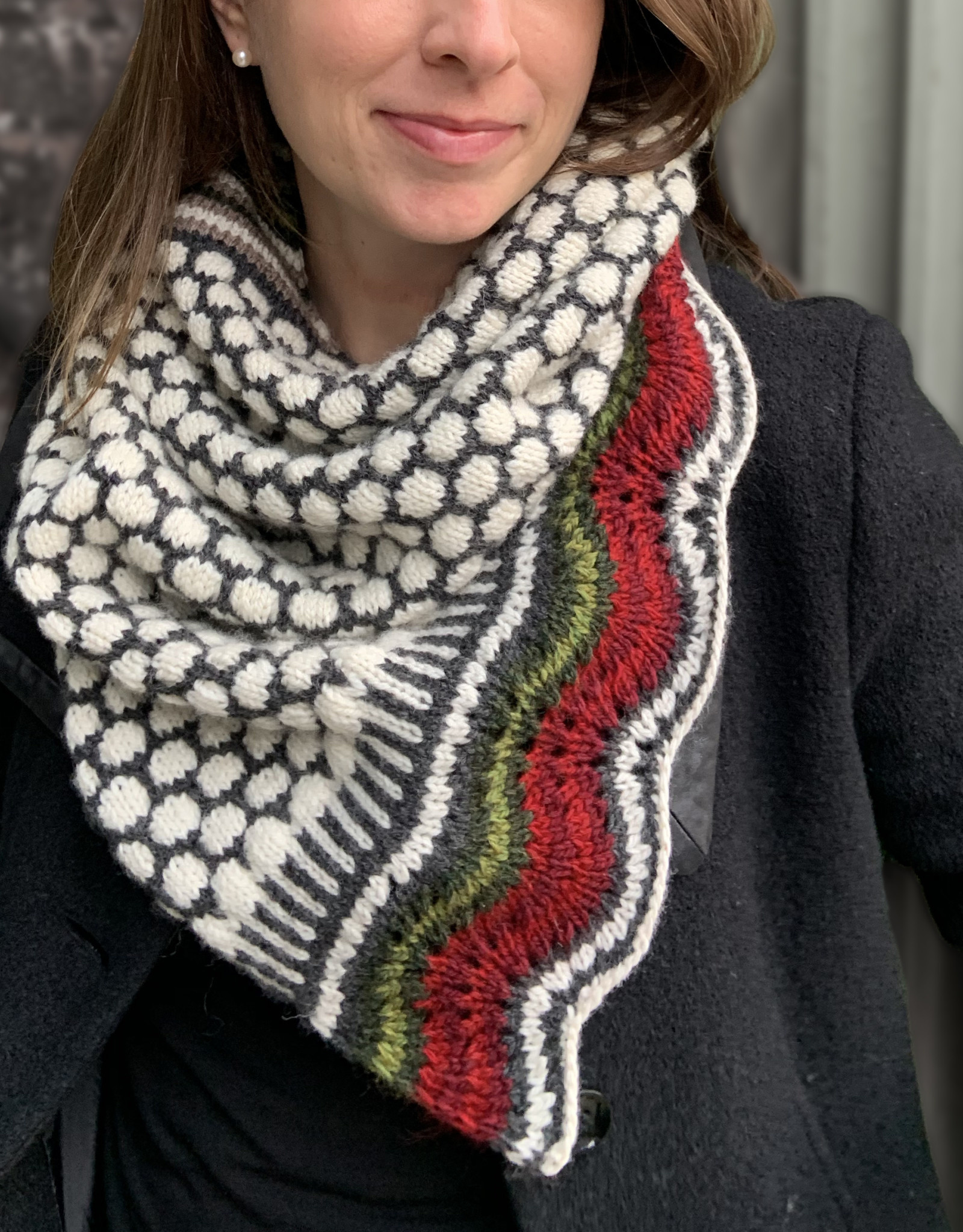 New Huffman Studios Wintersonne Cowl Kit  - with pattern