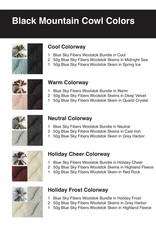 New Huffman Studios Black Mountain Cowl Kit - without pattern