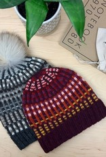 New Huffman Studios Black Mountain Hat Kit w/pom