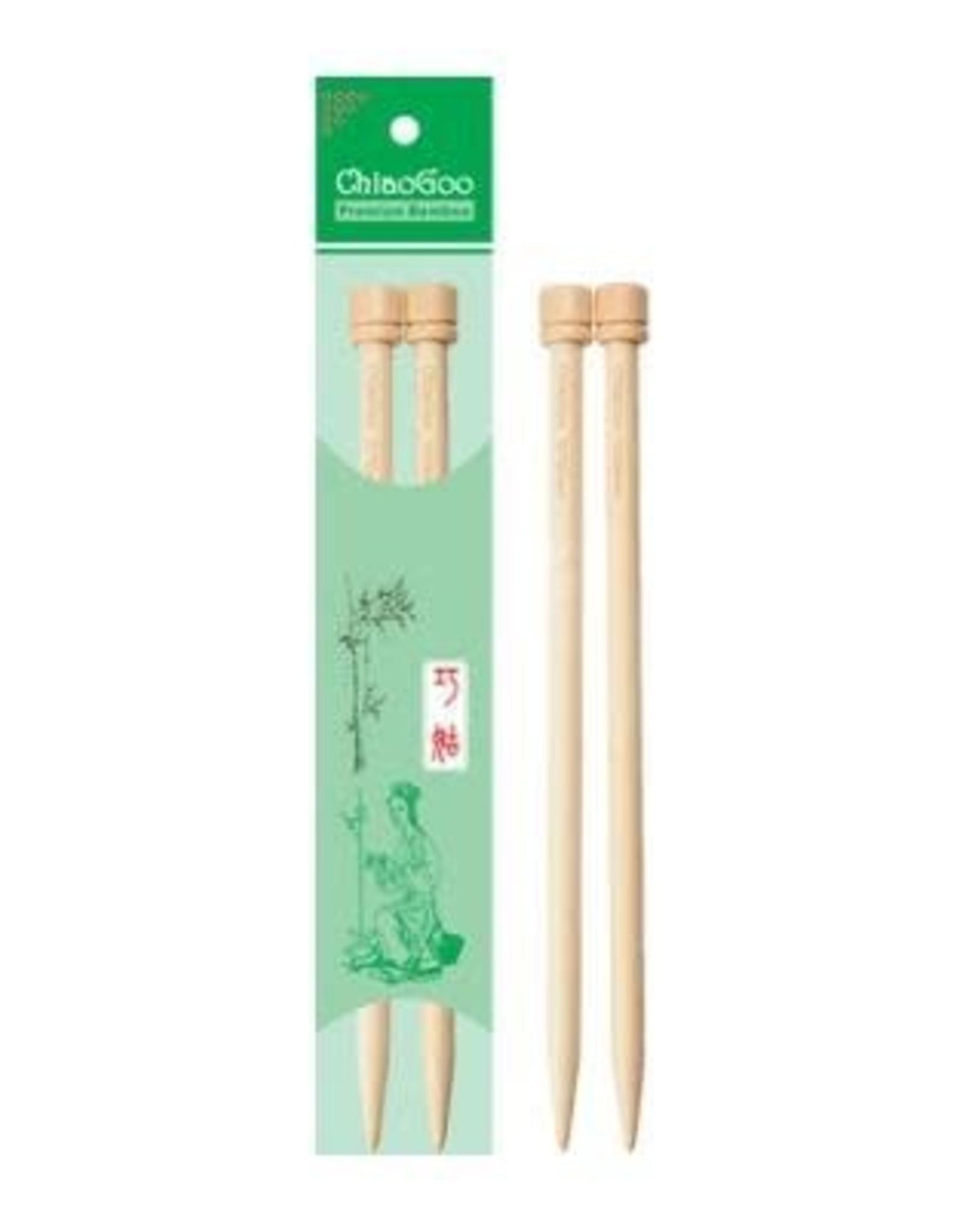 """ChiaoGoo 7"""" Premium Bamboo Knitting Needles"""