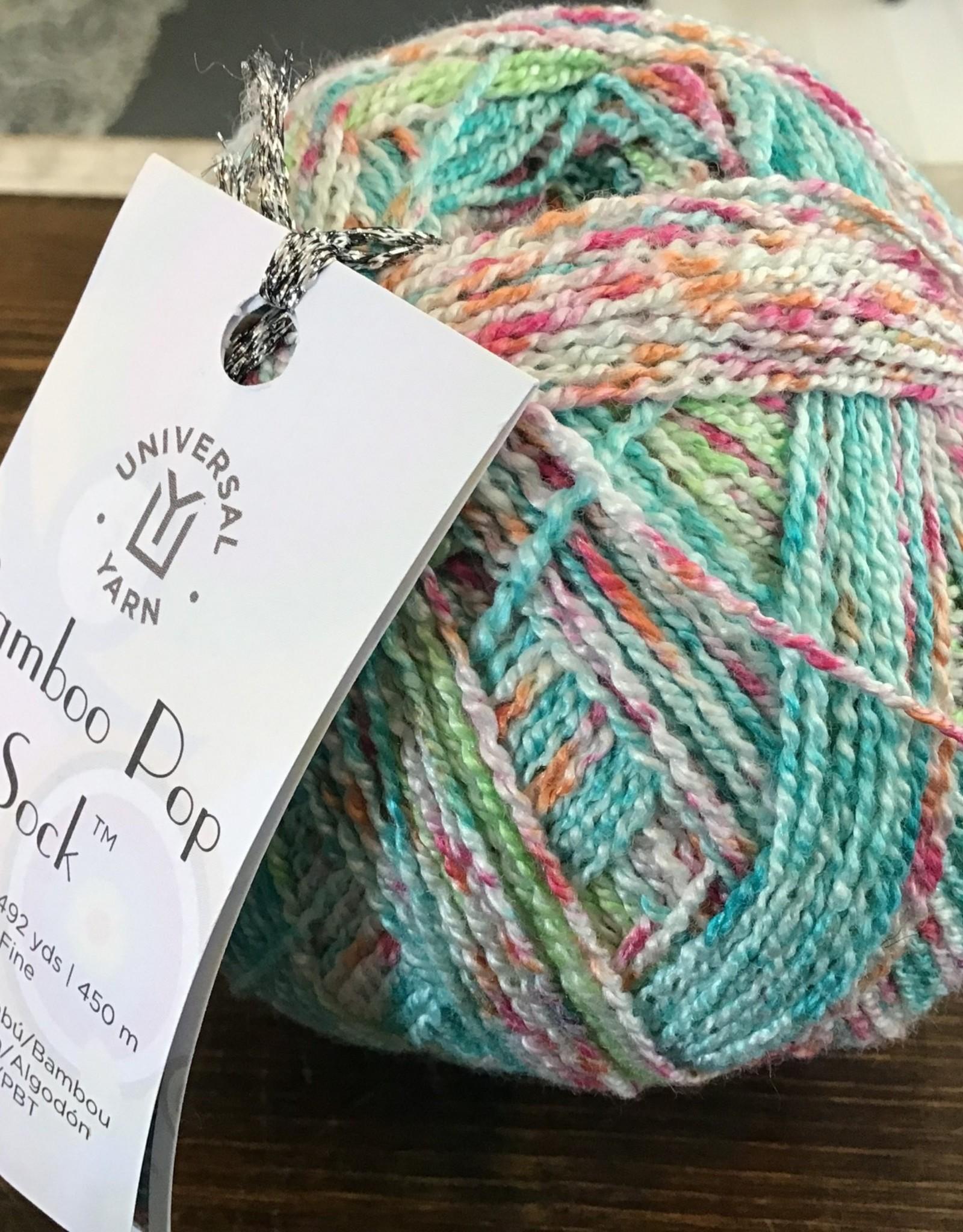 Universal Yarn Bamboo Pop Sock Yarn -  Lace Weight