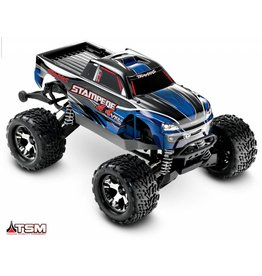 TRAXXAS TRA67086-4 STAMPEDE 4X4 VXL BLUE:  1/10 SCALE MONSTER TRUCK WITH TQI TRAXXAS LINK ENABLED 2.4GHZ RADIO SYSTEM & TRAXXAS STABILITY MANAGEMENT (TSM)