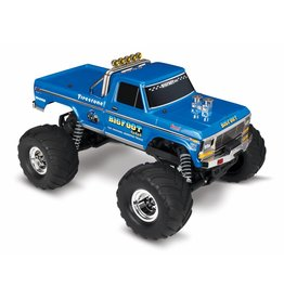 TRAXXAS TRA36034-1 BIGFOOT® NO. 1: 1/10 SCALE OFFICIALLY LICENSED REPLICA MONSTER TRUCK WITH TQ 2.4GHZ RADIO SYSTEM