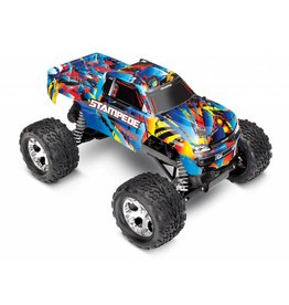 TRAXXAS TRA36054-4 STAMPEDE RNR: 1/10 SCALE MONSTER TRUCK WITH TQ 2.4GHZ RADIO SYSTEM