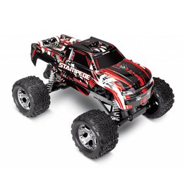 TRAXXAS TRA36054-4 STAMPEDE RED: 1/10 SCALE MONSTER TRUCK WITH TQ 2.4GHZ RADIO SYSTEM