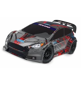TRAXXAS TRA74054-4 FORD FIESTA® ST RALLY:  1/10 SCALE ELECTRIC RALLY RACER WITH TQ 2.4GHZ RADIO SYSTEM