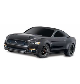 TRAXXAS TRA83044-4_BLK FORD MUSTANG GT: 1/10 SCALE AWD SUPERCAR WITH TQ 2.4GHZ RADIO SYSTEM