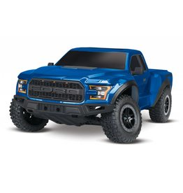 TRAXXAS TRA58094-1_BLUE FORD F-150 RAPTOR: 1/10-SCALE FORD F-150 RAPTOR WITH TQ 2.4GHZ RADIO SYSTEM