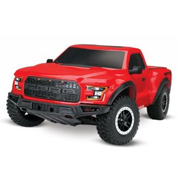 TRAXXAS TRA58094-1_RED FORD F-150 RAPTOR: 1/10-SCALE FORD F-150 RAPTOR WITH TQ 2.4GHZ RADIO SYSTEM