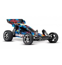 TRAXXAS TRA24054-4 BANDIT ROCK N ROLL: 1/10 SCALE OFF-ROAD BUGGY WITH TQ 2.4GHZ RADIO SYSTEM