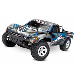 TRAXXAS TRA58024_BLUEX SLASH: 1/10-SCALE 2WD SHORT COURSE RACING TRUCK WITH TQ 2.4GHZ RADIO SYSTEM