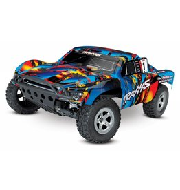 TRAXXAS TRA58024 SLASH RNR: 1/10-SCALE 2WD SHORT COURSE RACING TRUCK WITH TQ 2.4GHZ RADIO SYSTEM