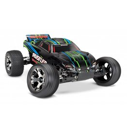 TRAXXAS TRA37076-4_GRN RUSTLER VXL:  1/10 SCALE STADIUM TRUCK WITH TQI TRAXXAS LINK ENABLED 2.4GHZ RADIO SYSTEM & TRAXXAS STABILITY MANAGEMENT (TSM)