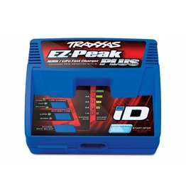 TRAXXAS TRA2970 CHARGER, EZ-PEAK PLUS, 4 AMP, NIMH/LIPO WITH ID AUTO BATTERY IDENTIFICATION