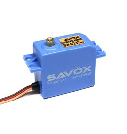 SAVOX SAVSW0230MG WATERPROOF DIGITAL .13/111.1 @ 7.4V SERVO