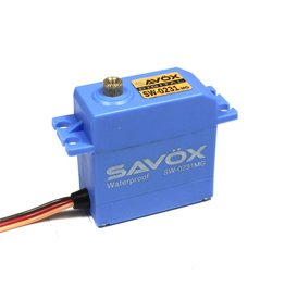SAVOX SAVSW0231MG WATERPROOF DIGITAL .15/208 @ 6.0V SERVO