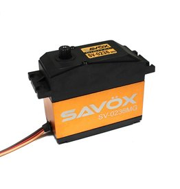 SAVOX SAVSV0236MG HV 1/5 SCALE 0.17/555.5 @7.4V SERVO