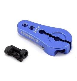 PROTEK RC PTK-7808 4MM ALUMINUM SHORT CLAMP SERVO HORN (BLUE) 25T