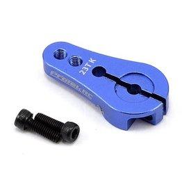 PROTEK RC PTK-7809 4MM ALUMINUM SHORT CLAMPING SERVO HORN (BLUE) 23T