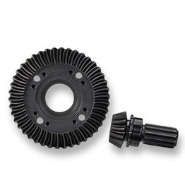 TRAXXAS TRA7778X RING GEAR, DIFFERENTIAL/ PINION GEAR, DIFFERENTIAL (MACHINED, SPIRAL CUT) (REAR)